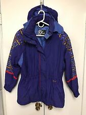 TYROLIA Skiwear Insulated 90s Vintage Ski Jacket Womens Size 6 Packable WARM