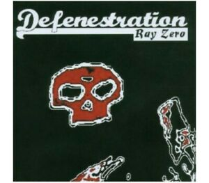 Defenestration – Ray Zero – CD - MAN-2107