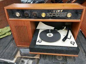 VINTAGE SPINNEY SRG 5  RADIOGRAM  RADIO RECORD PLAYER VGC.SEE PHOTOS