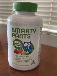 SMARTYPANTS Kids Children Fiber 120 Gummy Vitamins