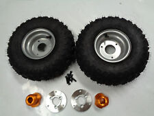 6INCH WHEEL WITH HUB & ADAPTER FOR 25MM AXLE PAIR