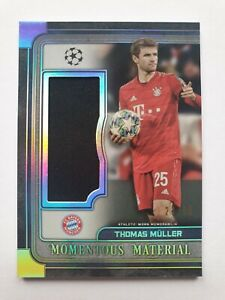 2019-20 Museum CL Thomas Müller Jumbo Jersey Relic/99 Bayern München