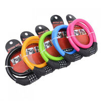 Cable Anti-Theft Scooter Safety Bicycle Lock 4 Digit Code Bike Accessories