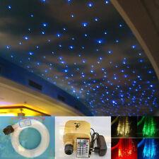 16W RGBW LED Fiber Optic Star Ceiling Kit 4M Twinkle Lights 0.75mm+1.0mm+1.5mm