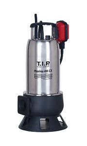 T.I.P. 30140 Schmutzwasser Tauchpumpe Baupumpe Maxima 400 CX