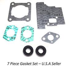 GASKET SET FITS STIHL FS80 FS85 FS75 TRIMMERS 4137 SERIES 31549 OIL SEALS