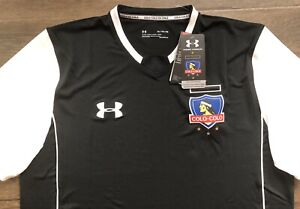 *NWT* UNDER ARMOUR Heatgear Colo-Colo Chile Black Jersey Men's Size XL MSRP $90