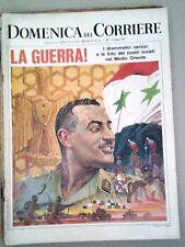 LA DOMENICA DEL CORRIERE-LA GUERRA-DEL 13 GIUGNO 1967