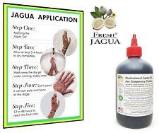 Fresh-Jagua® Tattoo Gel 16 oz.TOP GRADE PROFESSIONAL DARK STAIN GEL MADE IN USA.