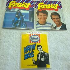 Vintage Australia 1976 1977 Happy Days Lot of 3x Stickers Streets Ice Cream +