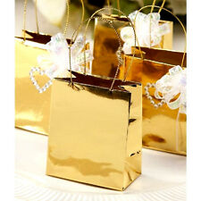 Favor Bags Metallic Gold 12 pieces decorations not included Anniversary     B110