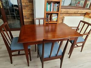 Mid century dining table and chairs. John Herbert for A. Younger. FREE DELIVERY