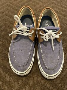 SPERRY - Men's Top-Sider Canvas Boat Shoes  Size 11M