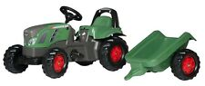 ROLLY TOYS FENDT TRACTOR VARIO 516 Ride On Pedal & Trailer Kid Kids Children