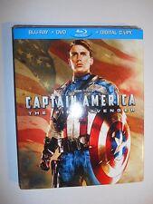 Captain America The First Avenger (Blu-ray/DVD, 2011) Best Buy W/Slipcover
