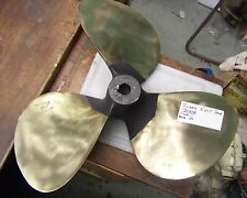 Large 3-Blade right hand Brass 21 inch diameter 21 X 18 PITCH boat PROPELLER