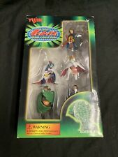 "Yujin Battle of The Planets Gatchaman 3"" PVC Figures Japanese Complete 5 Figures"