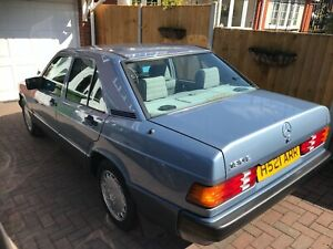Mercedes 190'e Time-warp Condition Classic. Stunning Condition.