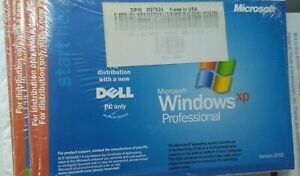 Dell Reinstall CD Microsoft Windows XP Professional Service Pack 2 NEW, SEALED