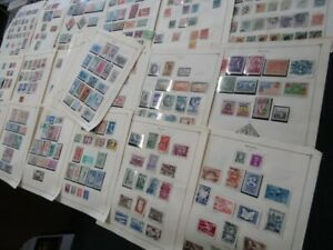 Nystamps Brazil many mint old stamp collection Scott page