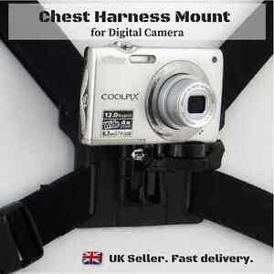 New Universal Chesty Chest Strap Harness Mount Holder for Digital Camera DSLR
