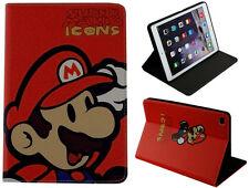 For iPad Air 1-2 / iPad Pro 9.7 / iPad 9.7 Super Mario Bros Smart Case Cover