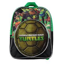"Teenage Mutant Ninja Turtles Boys Shell Backpack School Bag 12"" Book Bag"
