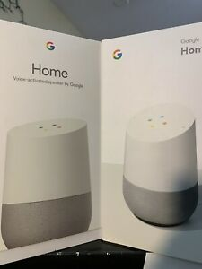 Google GA3A00417A14 Home Voice Activated Speaker White Slate