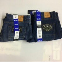 Nat Nast Men Luxury Originals Stretch Straight Fit Jeans Size&Color:Variety NWT!