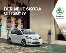 2020 MY Skoda Citigo e iV 12 / 2019 catalogue brochure Deutsche Spr.