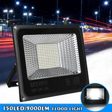 100W LED Flood Light Landscape Spotlight Garden Yard Garage Outdoor Lamp US