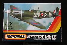 YN063 MATCHBOX 1/72 maquette avion PK-2 Spitfire Mk IX
