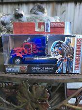 Metals Die Cast - 1/32 - Transformers - Hollywood Rides - Optimus Prime -