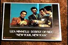 NEW YORK NEW YORK 1977 LOBBY CARD #7 ROBERT DE NIRO