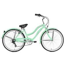 """Micargi 26"""" Pantera 7 speed Lady beach cruiser bicycle bike Mint Green"""