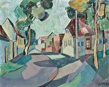 Sonja Wüsten - o. T. - Temperamalerei auf Malpappe - 1998