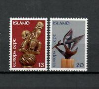 S34056 Island Iceland MNH 1974 Europa Sculptures 2v