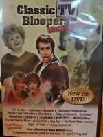 NEW The Best of TV Bloopers (DVD, 2013) (Classic TV Bloopers Uncensored) RARE