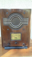 Poste radio ancien TSF à lampes Marconi 1935