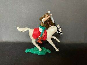 TIMPO TOYS MOUNTED ROMAN ON WHITE HORSE FROM 1960's