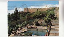 BF29383 almeria alcazaba jardines y torre de la vela spain  front/back image