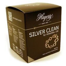 Hagerty Silver Clean 925 999 Jewellers Jewellery cleaner dip  - SH350A*