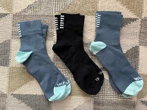 3 X Rapha Pro Team Cycling Socks - Mens Medium