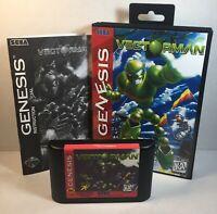 Vectorman Sega Genesis 1995 Complete Game, Manual & Box