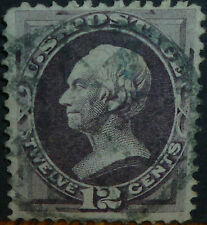*<* FREE SHIPPING! 145-year-old SCOTT #151 1870 CANCELLED GREEN STAMP: $300+!