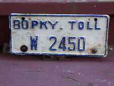 toll plate | eBay