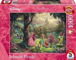 Thomas Kinkade Disney Sleeping Beauty 1000 Piece Jigsaw Puzzle