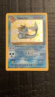 Vaporeon Jungle Set Holo Rare Pokemon Card