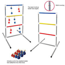 Sportcraft Portable Ladder Ball Toss Game New with Carry Bag Outside Yard Game