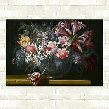 Pintura al óleo lienzo de flores de Arte Abstracto Arte Pared Decoración Hogar Moderno Salón